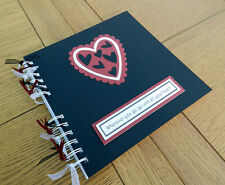 Valentines Love Hearts Scrapbook,Photo Memory Album Gifts, can be personalised