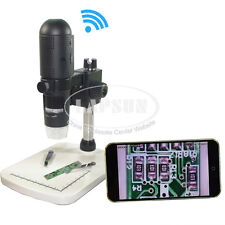 10x~200x 720P HD Video WIFI & USB Digital Microscope for iPhone iPad Android UK
