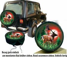 Cache roue de secours jachère jeu de chasse au cerf de voitures couvercle