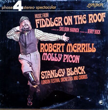 FIDDLER ON THE ROOF - R. MERRILL, M.PICON - LONDON PHASE 4 - SEALED LP