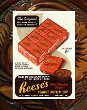 """Reese's Peanut Butter Cup Vintage Advertising Fridge Magnet 2.5""""x3.5"""""""