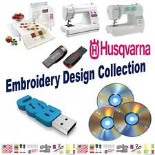 Husqvarna 16GB USB Memory Stick with 150,000 HUS Machine Embroidery Designs NEW