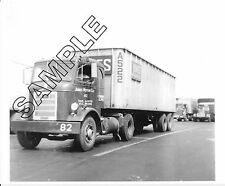MACK H-63 w/35' Van: JONES MOTOR CO., Spring City, PA 8x10 GLOSSY B&W PHOTO