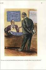 30's Risque Cartoons Gilbert Bundy Hospital Wedding Love Nest Howard Baer