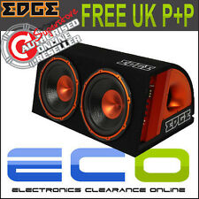 "EDB 12TA 12"" Twin Double Active Amplified Car Sub Subwoofer Bass Box 1800 watt"