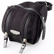 Brooks England Isle of Wight Saddle Bag Medium Black/Black