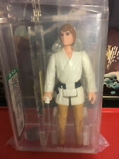 Luke Skywalker Brown Hair (Farmboy) loose AFA 80 Vintage Star Wars Figure