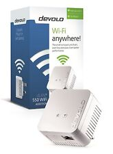 DEVOLO 9626 POWERLINE DLAN 550 WIFI ADD-ON SINGLE ADAPTER, USE WITH STARTER KITS