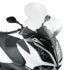 GIVI D294ST WINDSHIELD WINDSCREEN TRANSPARENT for KYMCO DOWNTOWN 300i 2013 2014