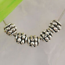 Nd2806 140pcs Tibetan silver studded ball spacer beads