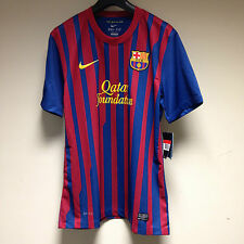 Barcelona FC 2011 2012 Home Football Shirt Adult LARGE NEW Camiesta