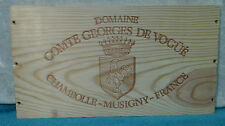 COMTE GEORGES DE VOGUE CHAMBOLLE MUSIGNY FRANCE WOOD WINE PANEL END