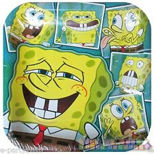 SPONGEBOB SQUAREPANTS Selfies LARGE PAPER PLATES (8) ~ Birthday Party Supplies