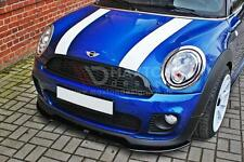 FRONT SPLITTER (GLOSS BLACK) - MINI COOPER R56 JCW 2006-2013