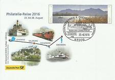 E B Ganzsache Philatelie-Reise 02/16 - Erlebnis Briefmarken - Auflage 1500 Stück