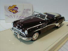 True Scale TSMCE154306 # Buick Roadmaster Convertible Bj.1949 dunkelrot 1:43