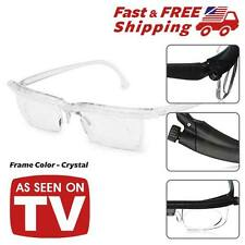 New Instant 20/20 Vision Adjustable Glasses see Reading Watching As Seen on TV
