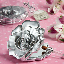 100 - Rose Design Mirror Compact Wedding Shower Favors