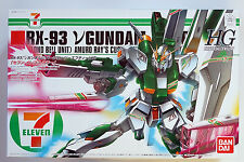 BANDAI HGUC 1/144 ν (Nu) GUNDAM ver GFT 7-Eleven color limited scale model kit