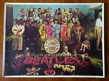 Sgt. Pepper's Lonely Hearts Club Band * Beatles * Original 1978 Release Poster