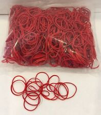 Tattoo Machine Bag of 1000 Standard #12 Red Rubber Bands Latex Free 1/4 Lbs USA