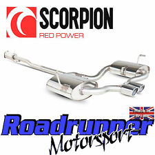 SMN012 scorpion exhaust mini cooper s R53 (02-06) inox cat back système res