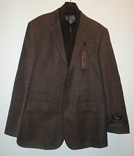 Prontomoda Europa Men's Light Brown Wool/ Cashmere Sportcoat SZ 42 R NEW