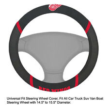 Fan Mats NHL Detroit Red Wings Car Truck Suv Van Boat Steering Wheel Cover