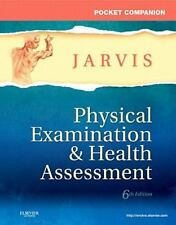 Pocket Companion for Physical Examination and Health Assessment, 6e (Jarvis, Poc