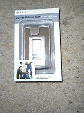 BRAND NEW CANVAS HOLSTER CASE FOR iPOD WITH VIDEO BY BELKIN