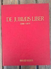 De Jubilaeis liber: 1300-1975 lamine argento francobolli GIUBILEO da collezione!
