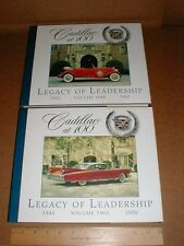 Cadillac New collector book set 1902-2006 pictorial history w/slipcase list $200