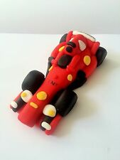 Edible Ferrari F1 Car Detailed Cake Topper Decoration