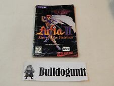 Lufia II Rise of the Sinistrals SNES Manual Only No Game Super Nintendo 2