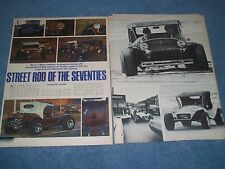 "1970 Motion Mini-T Vintage Info Article ""Street Rod of the Seventies"" VW Buggy"