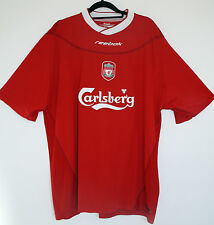 "EX! Liverpool FC 2002/2003/2004 XL Home Shirt  Adult Mens 46"" - 48"""