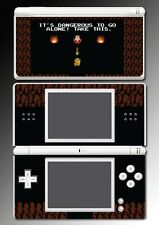 Legend of Zelda Classic Link Sword Retro Video Game Skin Cover Nintendo DS Lite