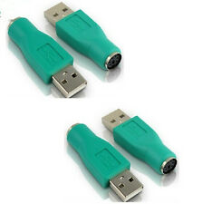 ONE Male USB to PS2 Female Mouse Keyboard Adapter Converter Plug PS 2 PC 2.0 HS6