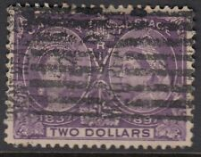 CANADA : 1897 Jubilee issue $2 deep violet  SG 137  used