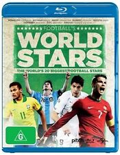Football's World Stars - Blu Ray New/Sealed Region B soccer