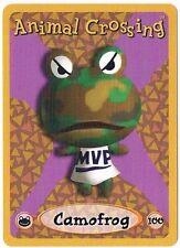 Camofrog 100 Animal Crossing E-Reader Card Nintendo GBA