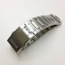 SEIKO Original Silver Tone Stainless Steel Metal Watch Band SNA695 18mm