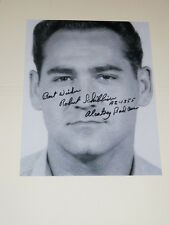 Alcatraz Inmate ROBERT SCHIBLINE Signed 8x10 Photo AUTOGRAPH 1A
