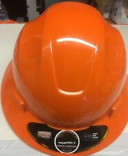 Orange Safety hard hat (cool Air Flow)