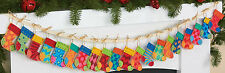 Felt Embroidery Kit ~ Dimensions Christmas Advent Stocking Garland #72-08280