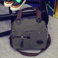 Men Women Vintage Canvas Satchel Shoulder Messenger Crossbody Hand Bags Hobo HOT