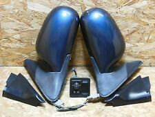 1998 2002 NISSAN SUNNY B15 SUPER SALOON POWER FOLDING SIDE MIRROR W SWITCH OEM