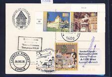 49326) AUA SF Weihnachten Wien - Zypern 24.12.2008, Kte UNO Wien SPA SiFi TP