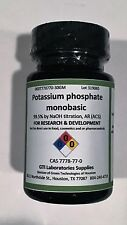 Potassium phosphate monobasic, 99.5% by NaOH titration, AR (ACS), 30g