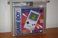 Original Nintendo Game Boy B&W Console - NEW SEALED, SUPER MINT, GOLD VGA 90+!